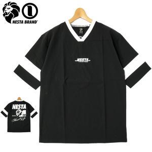 ネスタブランド 2021 吸汗速乾 6分袖 ホッケー Tシャツ 212NB1000 NESTA BRAND メール便発送  21SS トップス ファッション MAY1|golf-thirdwave