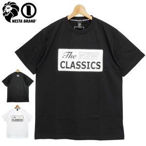 ネスタブランド 2021 吸汗速乾 クルーネック 半袖 Tシャツ ザ・ニュークラシックス 212NB1004 NESTA BRAND メール便発送  21SS トップス ファッション APR1|golf-thirdwave