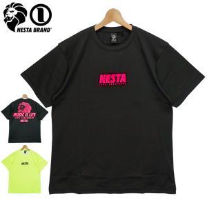 ネスタブランド 2021 クルーネック 半袖 Tシャツ ネオンカラー 212NB1009 NESTA BRAND メール便発送  21SS トップス ファッション APR1|golf-thirdwave