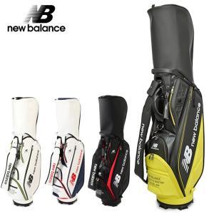 ニューバランス ゴルフ 2021継続 9型 キャディバッグ 012-0980001 日本正規品 20SS New Balance Golf ゴルフ用バッグ|golf-thirdwave