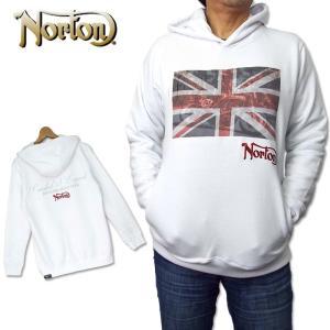 ノートン メンズ ユニオンジャック ライダー 長袖パーカー 183N1316 Norton 18FW...