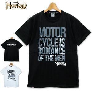 ノートン 半袖 厚手 ヘビーウェイト Tシャツ 202N1008 Norton 春夏 20SS 半そで シャツ ウェア トップス Tee メンズ ファッション|golf-thirdwave