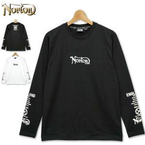 ノートン 2021 抗ウイルス加工 クルーネック 長袖 Tシャツ 211N1100 Norton 21SS 長そで ロングTシャツ メンズ ファッション|golf-thirdwave