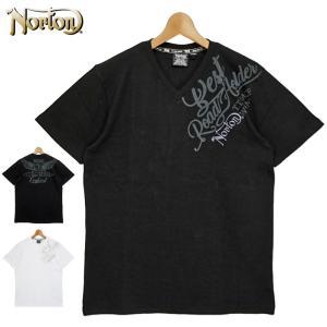 ノートン 2021 吸汗速乾 Vネック テレコ素材 半袖 Tシャツ 212N1051 Norton メール便発送  21SS 半そで シャツ ウェア トップス Tee メンズ ファッション JUN1|golf-thirdwave