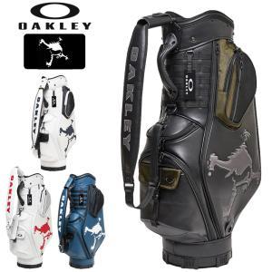 オークリー メンズ 9.5型 キャディバッグ SKULL GOLF BAG 14.0 FOS900201 20FW OAKLEY ゴルフ用バッグ|golf-thirdwave