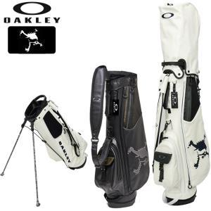 オークリー メンズ 8型 スタンドバッグ SKULL STAND 14.0 FOS900214 20FW OAKLEY キャディバッグ ゴルフ用バッグ|golf-thirdwave