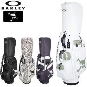 オークリー 2021 9.5型 キャディバッグ SKULL GOLF BAG 15.0 FOS900645  21SS OAKLEY ゴルフ用バッグ APR3|golf-thirdwave
