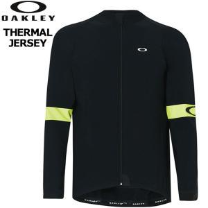 オークリー Oakley メンズ サイクルジャージ  サーマルジャージ THERMAL JERSEY...