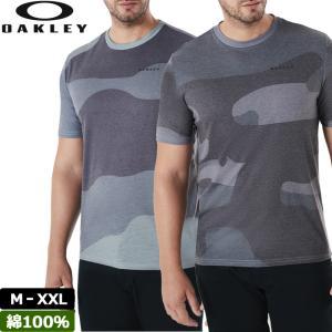 オークリー Oakley メンズ 半袖 Tシャツ Big Camou SS 457349 18FW 迷彩 シャツ メール便発送|golf-thirdwave
