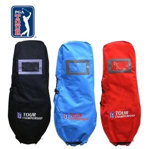 厚手のポリエステル仕様 PGA TOUR PGAツアーチャンピオンシップ トラベルカバー Presented By コカコーラ OT-3003 ゴルフ用品 %off|golf-thirdwave