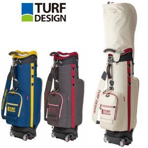 ターフデザイン 9.5型 キャディバッグ Roller Caddie Bag TDCB-1873 日本正規品 21SS TURF DESIGN ゴルフ用バッグ カートバッグ AUG3|golf-thirdwave