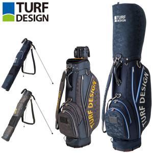 ターフデザイン 9.5型 セルフスタンドキャリーバッグ付き キャディバッグ Twin Bag TDCB-1874 日本正規品 21SS TURF DESIGN ゴルフ用バッグ カートバッグ AUG3|golf-thirdwave