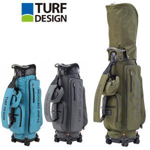 ターフデザイン 9.5型 キャディバッグ Roller Caddie Bag TDCB-2071 日本正規品 21SS TURF DESIGN ゴルフ用バッグ カートバッグ AUG2|golf-thirdwave