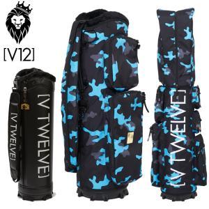 V12 ゴルフ 9.5型 キャディバッグ セット LIGHT BLUE CAMO V122020-CV01M_75(BLUE) 本体 V121900-BS01M ヴィ・トゥエルヴ 20SS 着せ替え GOLF|golf-thirdwave