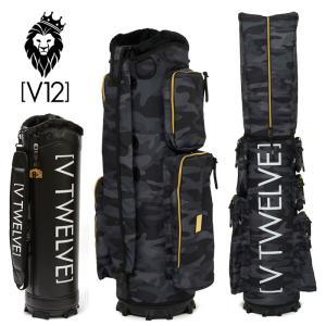 V12 ゴルフ 9.5型 キャディバッグ セット VT BLK CAMO V122021-CV04M 本体 V121900-BS01M ヴィ・トゥエルヴ 20FW 着せ替え ラップテック|golf-thirdwave