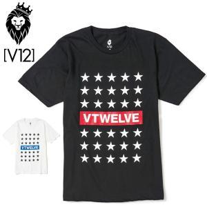 V12 ゴルフ メンズ 半袖 Tシャツ STAR LINE V122011-TS04 ヴィ・トゥエルヴ 20SS 半そで トップス おしゃれ ブランド V12 GOLF ゴールド|golf-thirdwave
