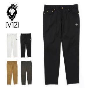 V12 ゴルフ メンズ ロングパンツ 5P PANTS V122020-PN03 ヴィ・トゥエルヴ 20FW ゴルフウェア おしゃれ ブランド GOLF|golf-thirdwave