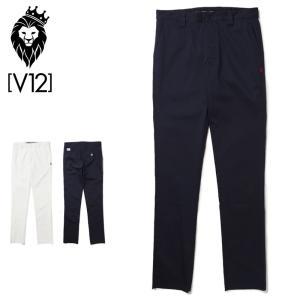 V12 ゴルフ 2021 メンズ ロングパンツ V12 PANTS V122110-PN15 ヴィ・トゥエルヴ  21SS ゴルフウェア ボトムス GOLF MAY3|golf-thirdwave