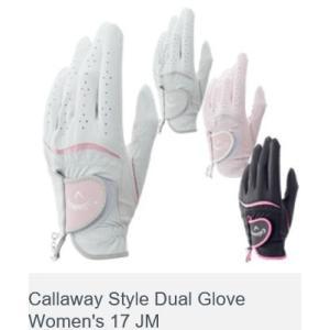 キャロウェイ スタイル デュアル グローブ ウィメンズ 17 JM Callaway Style Duai Glove Women's 17 JM 2017モデル|golf-westandeast