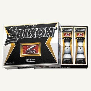 スリクソン SRIXON NEW Z-STAR ゴルフボール 1ダース 2015NEWモデル