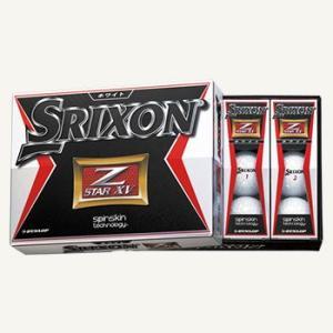 スリクソン SRIXON NEW Z-STAR XV ゴルフボール 1ダース 2015NEWモデル