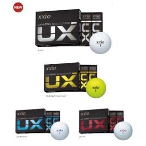 DUNLOP XXIO UX-AERO ダンロップ ゼクシオ UX-エアロ ゴルフボール 2016モデル 1ダース(12球)