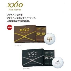 DUNLOP XXIO PREMIUM ダンロップ ゼクシオ プレミアム ゴルフボール 2016モデル 1ダース(12球)