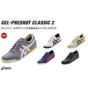 ASICS GEL-PRESHOT CLASSIC 2 アシックス TGN915 スパイクレス ゴルフシューズ 2016モデル