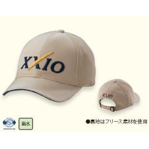 ダンロップ ゼクシオ 防寒撥水キャップ DUNLOP XXIO CAP XMH6121 2016モデル