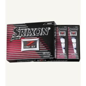 ダンロップ スリクソン Z-スター XV DUNLOP SRIXON Z-STAR XV ゴルフボール 1ダース(12球) 2017モデル