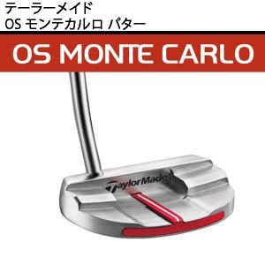 【取寄せ】【送料無料】 テーラーメイド メンズ OS モンテカルロ パター 専用ヘッドカバー付 【ゴルフクラ