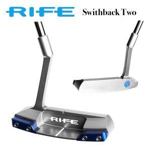 【即日出荷】ライフパター スイッチバック2 RIFE SWITCHBACK TWO rife パター|golfaholics