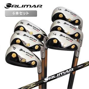 オリマー ゴルフ ORLIMAR ワンレングスアイアン アイアンセット 6本 #5I-Pw ORM-606 カーボンシャフト 中空アイアン【即日出荷】|golfaholics