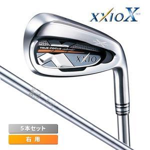 ダンロップ ゴルフ XXIO10 アイアンセット 5本組 #6-PW ゼクシオ テン N.S.PRO 870GH DST スチール シャフト 2018年モデル【即日出荷】|golfaholics
