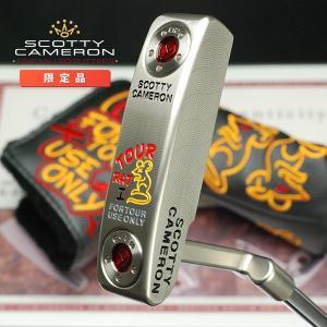 スコッティキャメロン ツアーパター ツアーラット 1 マスタフル シルバーミスト サークルT 証明書付き Tour Rat1|golfaholics