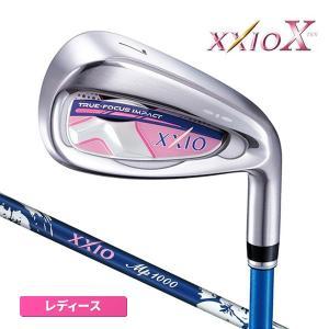 ダンロップ ゴルフ XXIO10 レディース 単品アイアン #5I/#6I/AW ブルー ゼクシオ テン MP1000L カーボンシャフト 2018年モデル 日本正規品|golfaholics