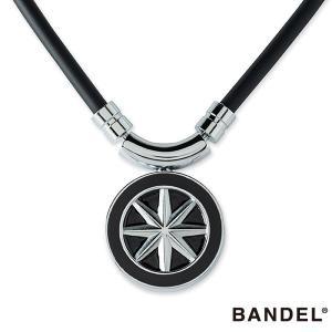 バンデル ヘルスケア ネックレス アース ブラックxシルバー メンズ レディース スポーツ チタン 磁気ネックレス 医療機器 磁気治療器 肩こり|golfaholics