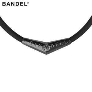 バンデル チタン ラバー ネックレス ブラックxブラック スポーツネックレス スポーツアクセサリー メンズ レディース ユニセックス|golfaholics