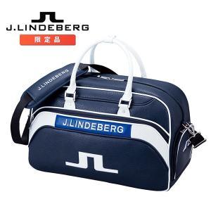 J.リンドバーグ J.LINDEBERG ボストンバッグ ネイビー 日本限定モデル JL-117 J...