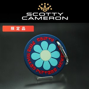 COTTY CAMERON FLOWER RUBBER PUTTING DISC NAVY BLUE...