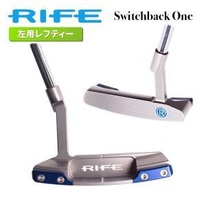 【即日出荷】RIFE ライフ パター スイッチバック1 レフティ パター SWITCHBACK ONE 左用 rife パター|golfaholics