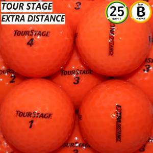 エクストラディスタンス オレンジ Bランク カラーボール 25個 ブリヂストン ロストボール 中古 ...