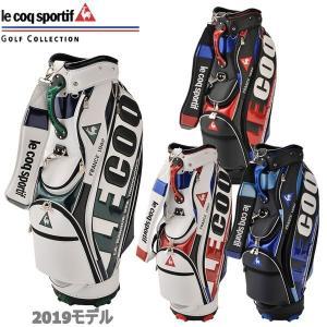 2019モデル ルコック ゴルフ  QQBNJJ01   キャディバッグ ゴルフバッグ