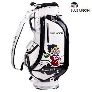 ★ブルームーン キャディバッグ 2021年モデル 西遊記シリーズ C12-BMS ホワイト 9.0型 ゴルフバッグ|golfers