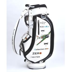 ★ブルームーン 零戦 ホワイト 9.0型 キャディバッグ 2021年モデル|golfers