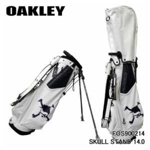 オークリー SKULL スタンドバッグ FOS900214 キャディバッグ 2020年モデル  WHITE DEGITAL(10F) golfers