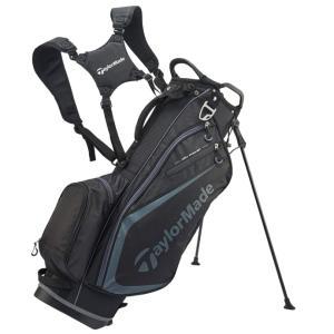 テーラーメイド Taylor Made セレクトプラス スタンドバッグ ブラック/チャコール golfers
