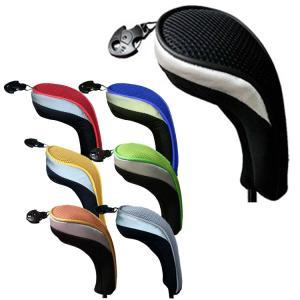 ゴルフ ヘッドカバー ユーティリティ用 カラフル ハイブリッド(ユーティリティ) ヘッドカバー AH043 (ゆうパケット配送) golfhands