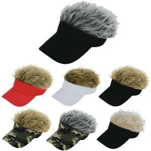 ゴルフ 帽子 バイザー ライト B-9 フェイクヘアーバイザー (全7色) B-9|golfhands