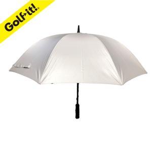 ゴルフ ティー ライト C-310 UVカット シルバー傘 60cm カバー無し 日傘|golfhands